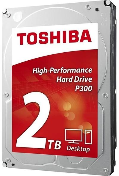 Toshiba P300 High Performance 2tb 5400RPM 128 MB Cache Sata 3 Sabit Disk HDWD220UZSVA