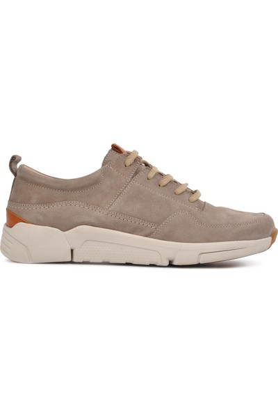 Free Foot 4101-1 Vizon Hakiki Deri Erkek Günlük Ayakkabı