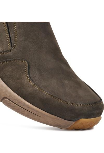 Free Foot 4103-2 Antrasit Hakiki Deri Erkek Günlük Ayakkabı
