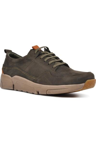 Free Foot 4101-1 Antrasit Hakiki Deri Erkek Günlük Ayakkabı