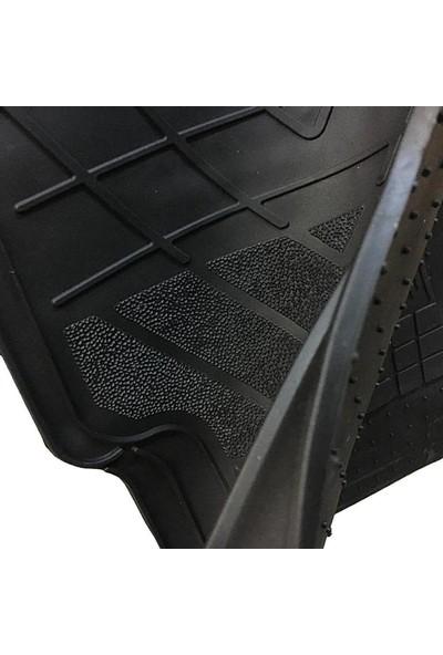 Strongıtems 2020 Model Volvo XC90 Için Full Siyah Universal Paspas