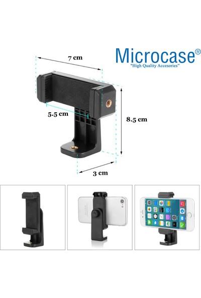 Microcase Tripod - Monopod Için Ayarlanabilir Telefon Tutucu Başlık - AL2534
