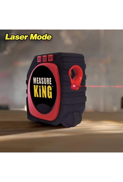 Measure King 3 Fonksiyonlu Lazer Mezura / BD-0044 (DY-SM-001)