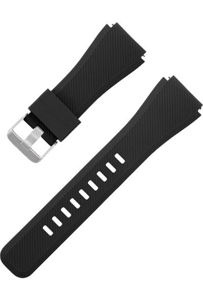Pars Online Huawei Gt / Gt 2 - Honor Magic Watch 2 46MM - Samsung Gear Watch 46MM Silikon Kordon Kayış