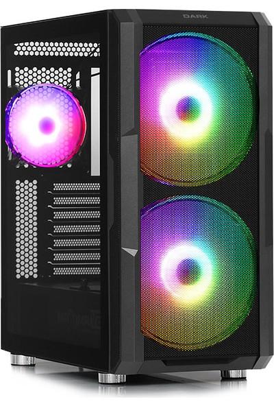 Teknobiyotik AMD Ryzen 5 5600X 16GB 480GB SSD RTX 2060 Freedos Masaüstü Bilgisayar (Dk Pc Hb 5600X 1)