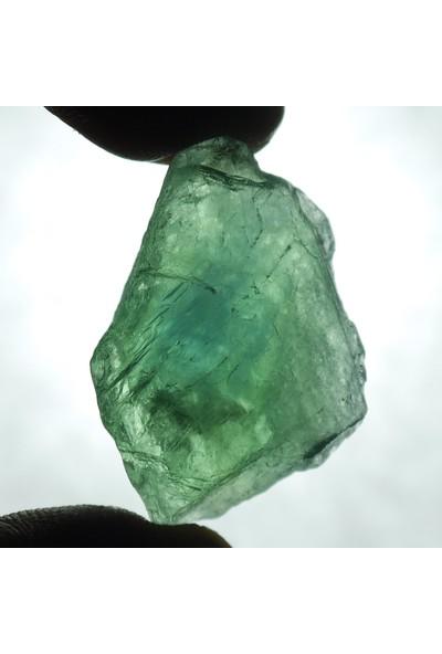 Crystal Koleksiyonluk Florit Taşı Kütle -Yoğun Renk -Tamamen Doğal - F55