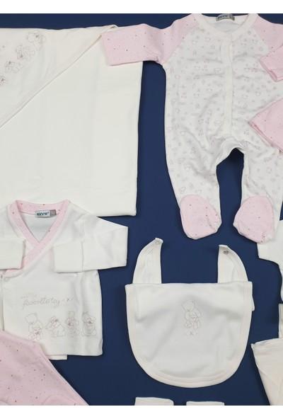 Bonne My Favorite Toy Kız Bebek Beyaz Hastane Çıkışı 10LU Zıbın Set