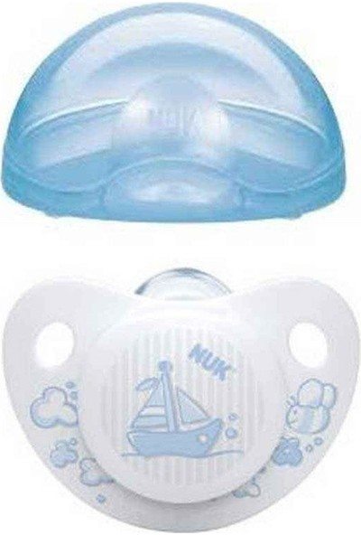 Nuk Baby Blue 0-6 Ay Saklama Kutulu Uyku Emziği No:1