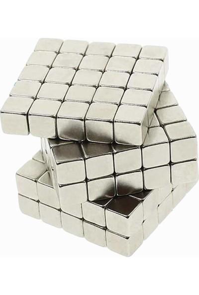 Dünya Magnet Mıknatıs; 5X5X5 Küp Neodyum Mıknatıs-Güçlü Magnet (30'lu Paket)