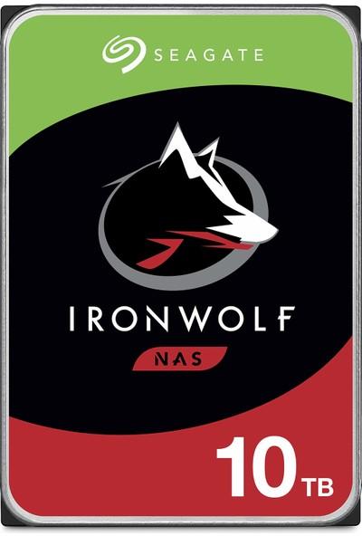 Seagate Ironwolf 10TB Nas 7200RPM 256MB Cache ST10000VN0008 Harddisk (Yurt Dışından)