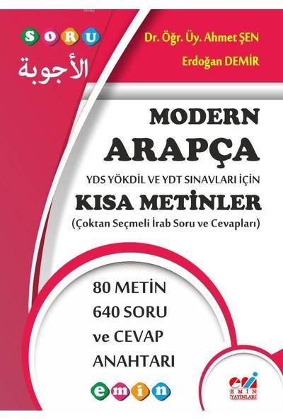 Modern Arapça Kısa Metinler - Ahmet Şen