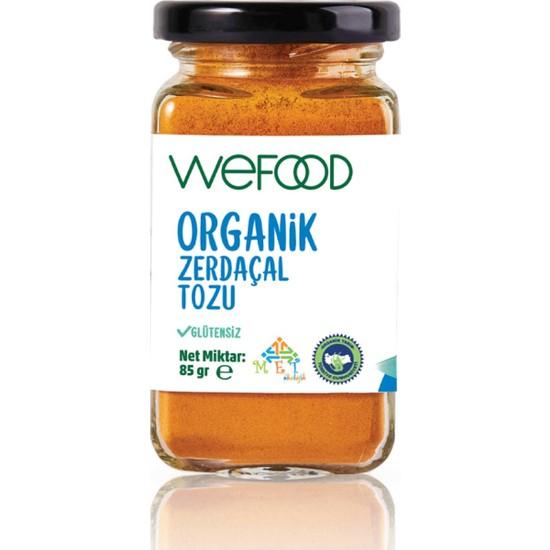 Wefood Organik Zerdeçal Tozu 85 gr