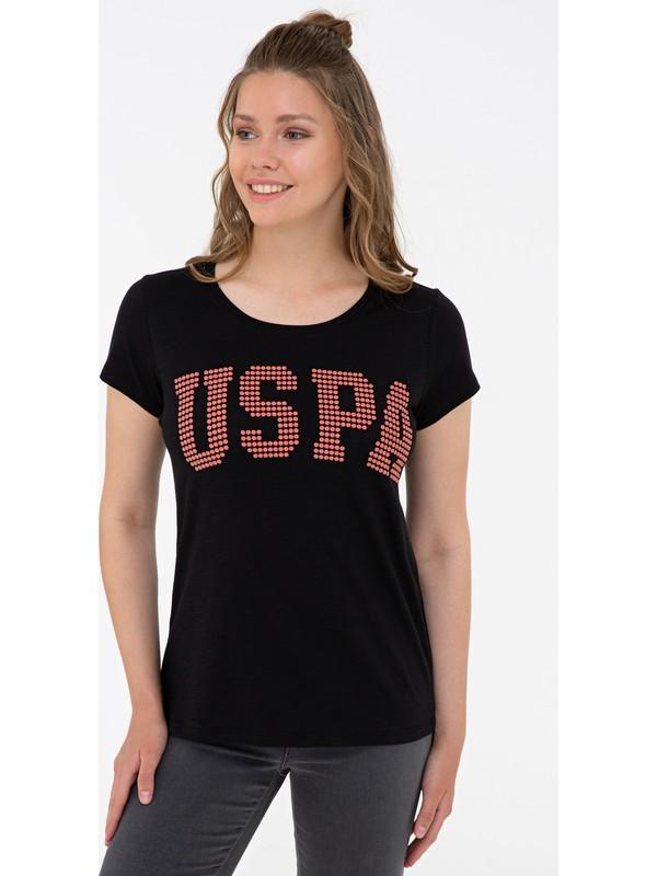 U.S. Polo Assn. Siyah T-Shirt 50238124-Vr046