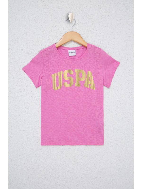 U.S. Polo Assn. Pembe T-Shirt 50234830-Vr034