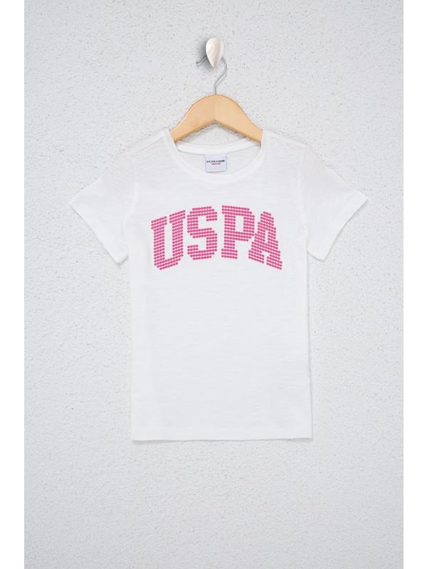 U.S. Polo Assn. Beyaz T-Shirt 50234830-Vr184