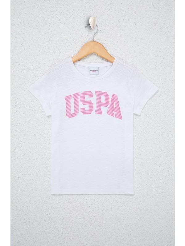 U.S. Polo Assn. Beyaz T-Shirt 50234830-Vr013