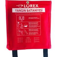 Lorex LR-FB1010C Çantalı Yangın Söndürme Battaniyesi (100x100 cm)