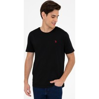 U.S. Polo Assn. Siyah T-Shirt Basic 50232295-VR046
