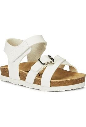 Vicco 321.21Y.156 Daisy Anatomik Kız Çocuk Beyaz Sandalet