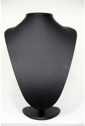 Aydın Dekor Orta Boy Deri Damla Model 30 cm Siyah Manken (Aydındecor)