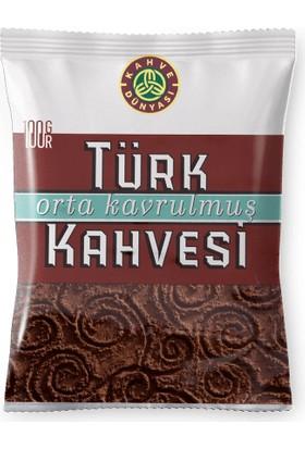 Kahve Dünyası Orta Kavrulmuş Türk Kahvesi 100 gr x 3'lü Paket