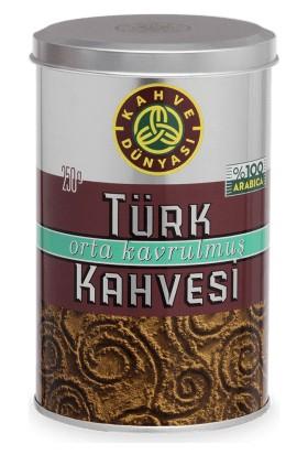 Kahve Dünyası Türk Kahvesi Orta Kavrulmuş Kahve 250 gr x 3'lü Paket
