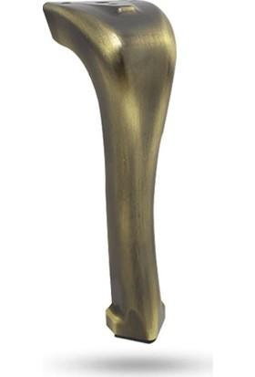 Yılmaz Collection 16 cm Merkür Antik Sarı Mobilya Ayağı