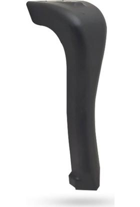 Yılmaz Collection 16 cm Merkür Siyah Mobilya Ayağı
