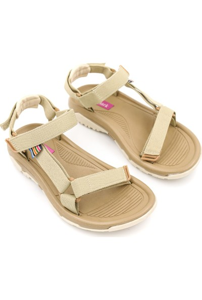 Shoemark Melani Bej Kadın Sandalet