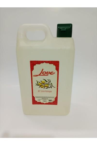 Love 80C Limon Kolonyası 1 Lt