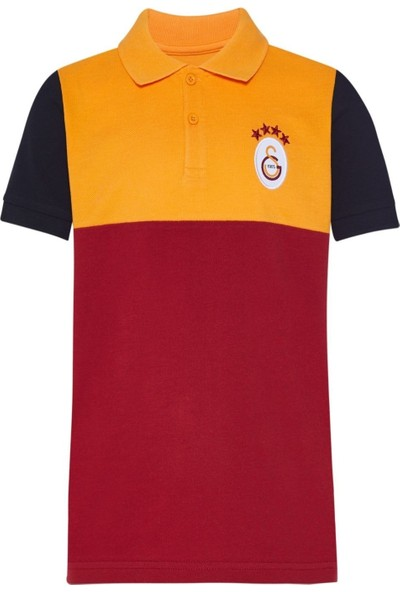 Galatasaray Orijinal Polo Yaka Çocuk Tshirt
