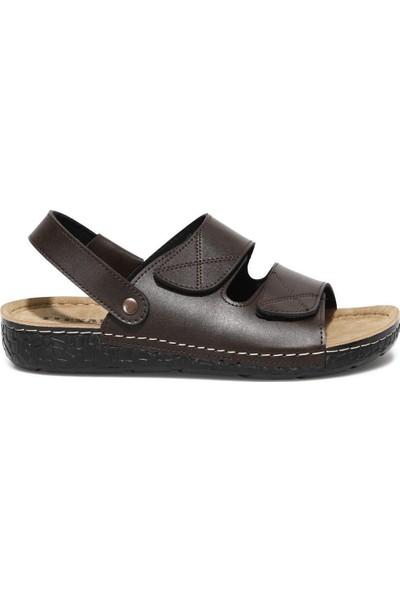 Flexall Sdl-3 1fx Kahverengi Erkek Klasik Ayakkabı
