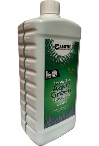 Cassette Chemical Karavan - Tekne Tuvalet Kimyasalı - Cassette Chem Aqua Green Portatif ve Kasetli Tuvalet Atık Parçalayıcı Koku Giderici Lavanta