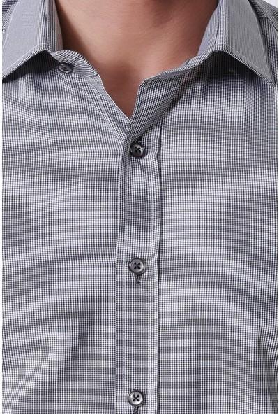 Ottomoda Erkek Ekose Uzun Kollu Gömlek