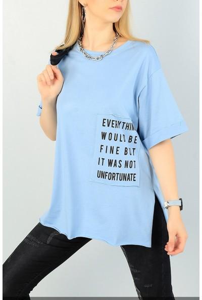 Adyes Duble Kol Baskılı T-Shirt