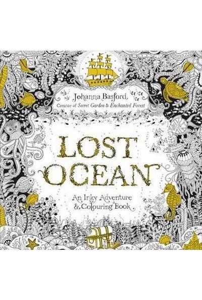 Lost Oceanan Inky Adventure & Colouring Book - Johanna Basford