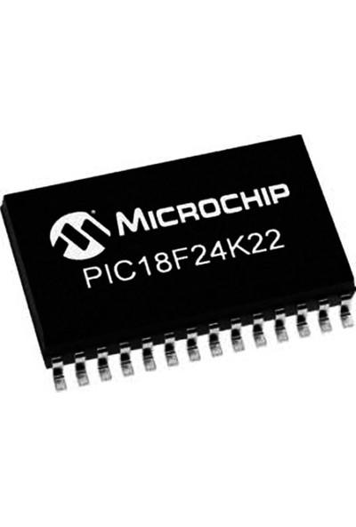 Microchip PIC18F24K22T-I/SO Smd SOIC28 24MHZ 8-Bit Mikrodenetleyici