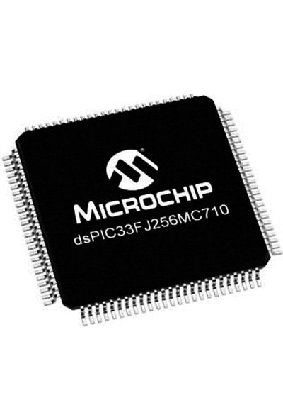 Microchip DSPIC33FJ256MC710 I/pt Smd 16-Bit 40MHZ Mikrodenetleyici TQFP-100