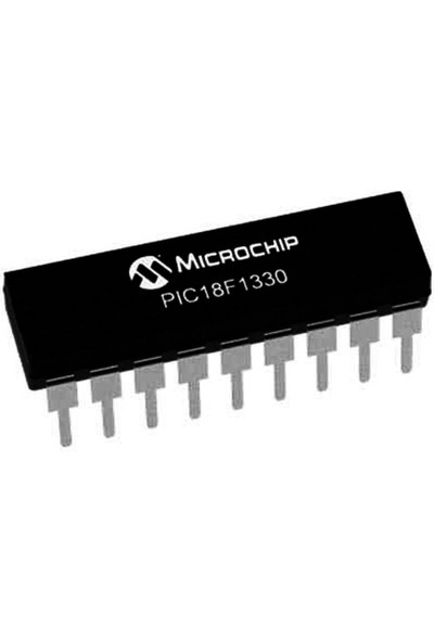 Microchip PIC18F1330 I/p 8-Bit 40MHZ Mikrodenetleyici Dip-18