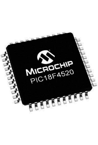 Microchip PIC18F4520 I/pt Smd Tqfp-44 8-Bit 40MHZ Mikrodenetleyici