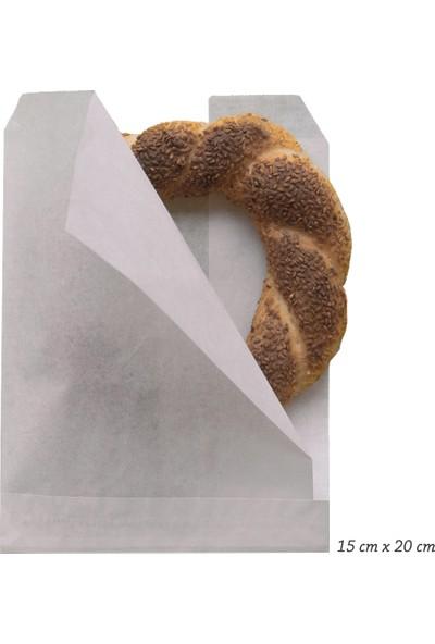 Anadolu Kağıtçılık Hamburgerlik - Yandan Açık 40GR Yağlı Kese Kağıdı Ithal 15CM x 20CM 10 kg 2000'LI