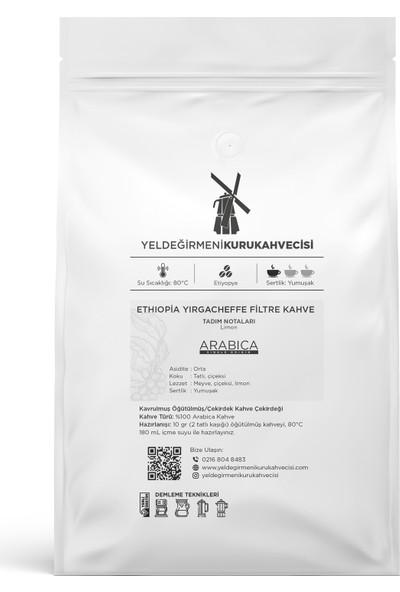 Yeldeğirmeni Kurukahvecisi Ethiopia Yırgacheffe Filtre Kahve 200 Gr