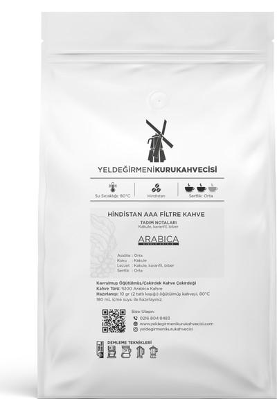 Yeldeğirmeni Kurukahvecisi Hindistan AAA Filtre Kahve 200 gr