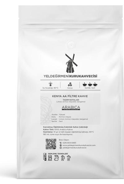 Yeldeğirmeni Kurukahvecisi Kenya AA Filtre Kahve 500 Gr