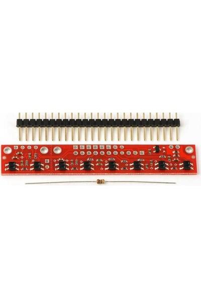 Pololu Qtr-8rc Kızılötesi Çizgi Takip Sensörü - Yansıtıcı Optik Sensör Modülü