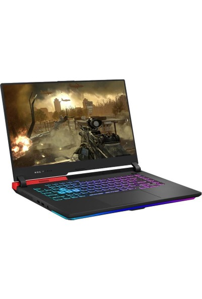 "Asus ROG Strix G513IH HN002A6 AMD Ryzen7 4800H 16GB 512GB SSD GTX 1650 Freedos 15.6"" FHD Taşınabilir Bilgisayar"