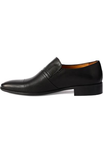 Balayk 1902 Siyah Lz Neolit %100 Deri Erkek Klasik Ayakkabı