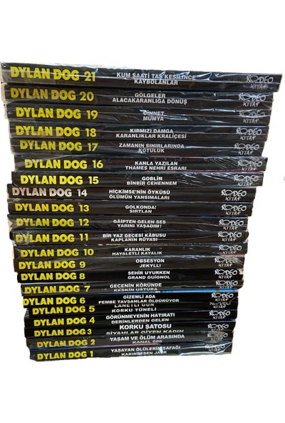 Dylan Dog Çizgi Roman -21 Sayı Tam Takım(Her Kitap 2 Macera)