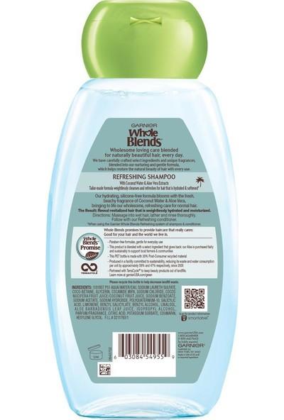 Garnier Coconut Water & Aloe Vera Şampuan 650 ml
