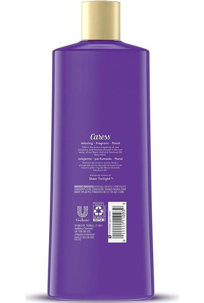 Caress Siyah Orkide & Paçuli Yağlı Vücut Şampuanı 532 ml